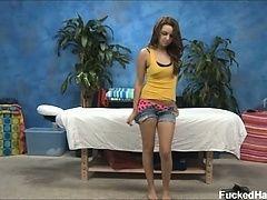 Pressley Carter обольстила и трахалась с массажистом